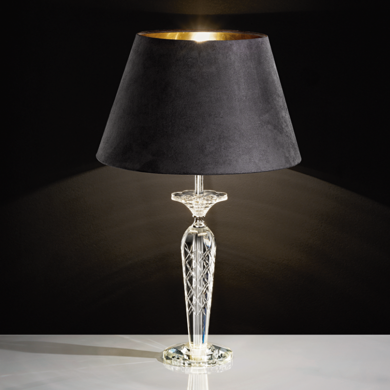 eglo tischleuchte pasiano kristall stahl klar chrom. Black Bedroom Furniture Sets. Home Design Ideas
