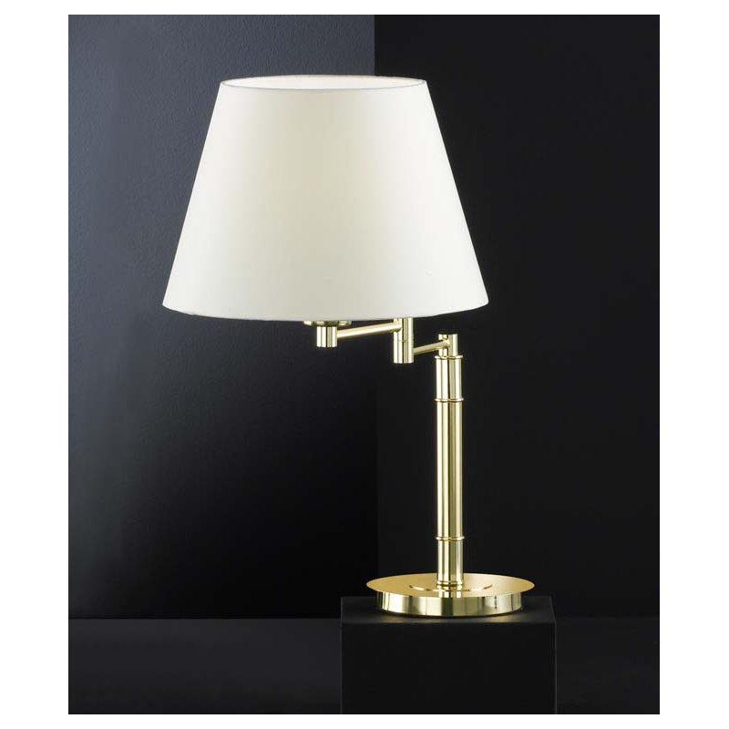 honsel 93361 tischleuchte messing matt preisvergleich lampe leuchte g nstig kaufen bei. Black Bedroom Furniture Sets. Home Design Ideas