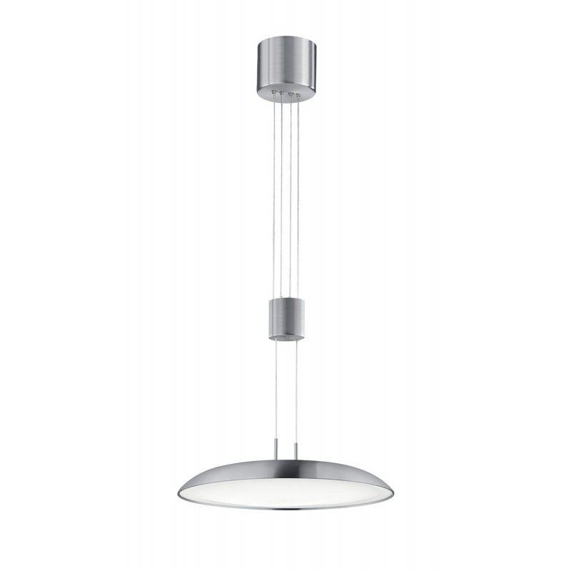 trio led jojo pendel 1x20w smd led nickel matt dimmbar 323412007 1. Black Bedroom Furniture Sets. Home Design Ideas
