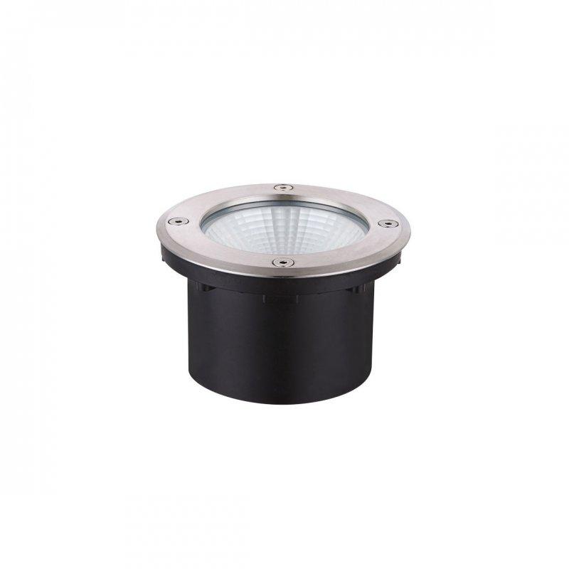 Wofi Outdoor line BRONX 1flg Edelstahl gebürstet roh LED