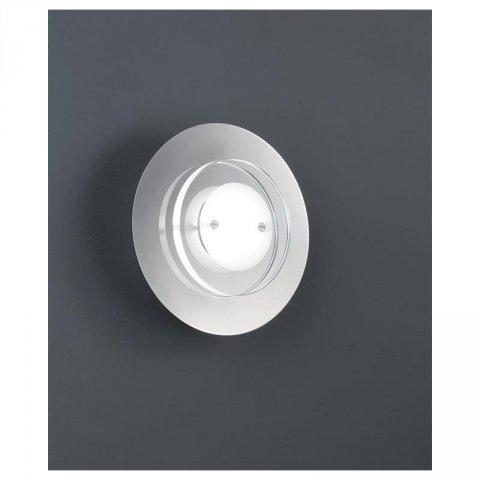 trio led wandleuchte 1x4 5w osram led chrom glas klar satiniert 46. Black Bedroom Furniture Sets. Home Design Ideas