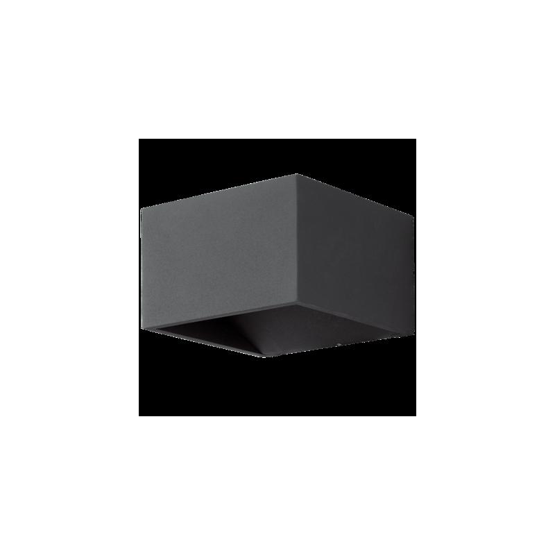 eglo au enleuchten led wandleuchte und deckenleuchte anthr. Black Bedroom Furniture Sets. Home Design Ideas