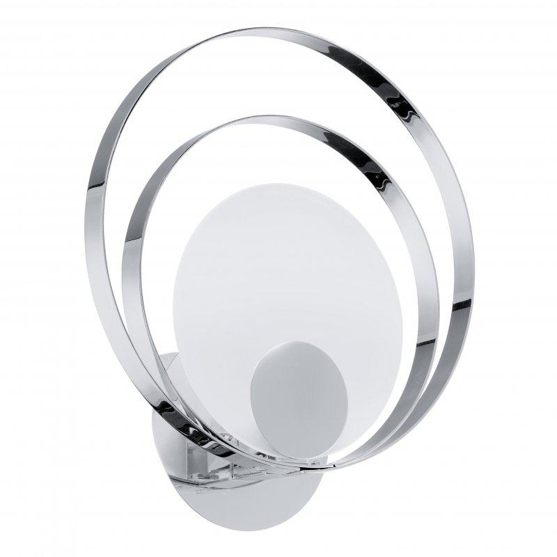 eglo deckenleuchte ringo 1 stahl chrom glas satiniert weiss 49 3. Black Bedroom Furniture Sets. Home Design Ideas