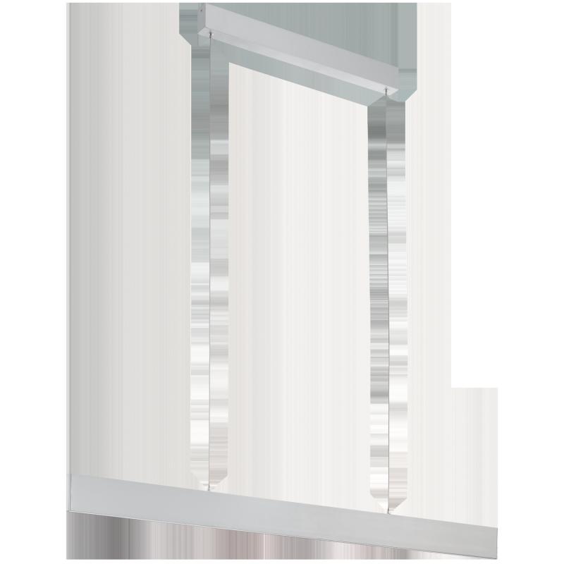 eglo led h ngeleuchte l nge 95 cm alu climene 39266 h. Black Bedroom Furniture Sets. Home Design Ideas