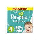 Pampers Baby-Dry Windeln Gr. 4 9-14 kg 1er Pack (1 x 174...
