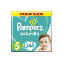 Pampers Baby-Dry Windeln Gr. 5 11-16 kg 1er Pack (1 x 144...