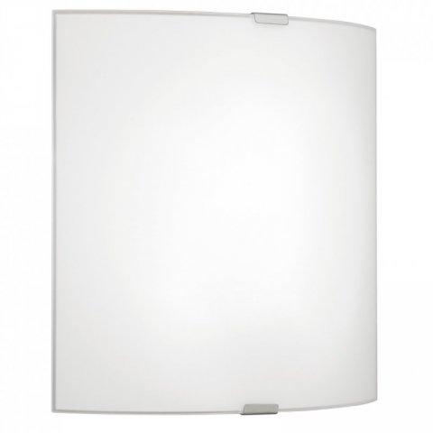 eglo deckenleuchte grafik stahl chrom glas satiniert weiss 22 19. Black Bedroom Furniture Sets. Home Design Ideas